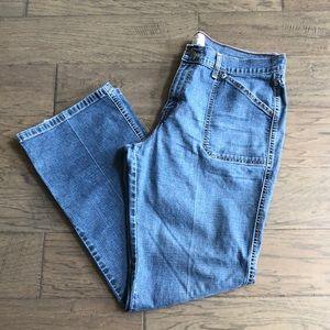 Levi's stretch misses 16 denim jeans, VGUC